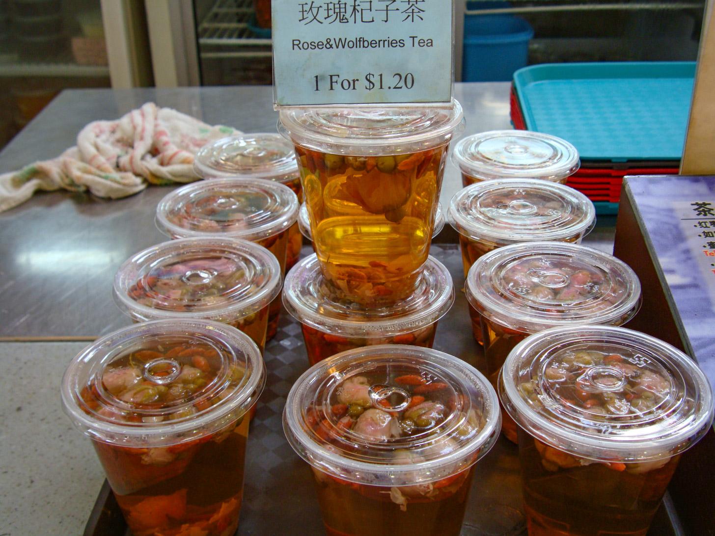 Versgemaakte drankjes in Singapore