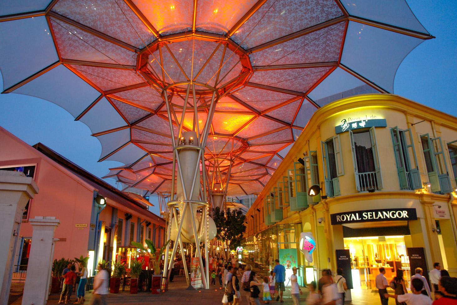 Kleurrijk Singapore