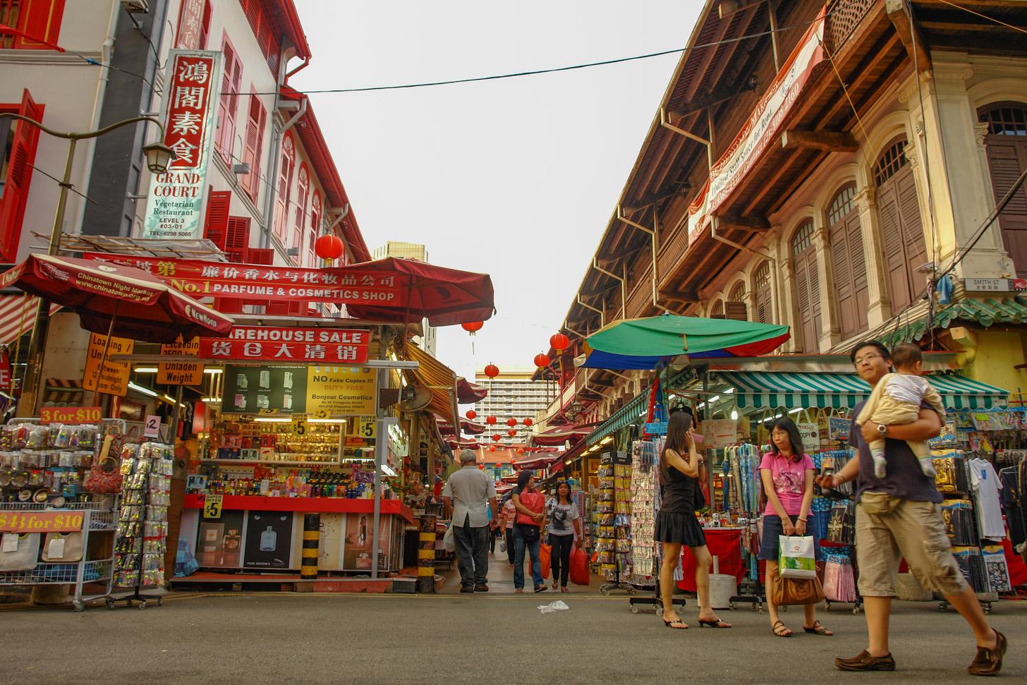 Onze favoriete winkelwijk in Singapore is Chinatown